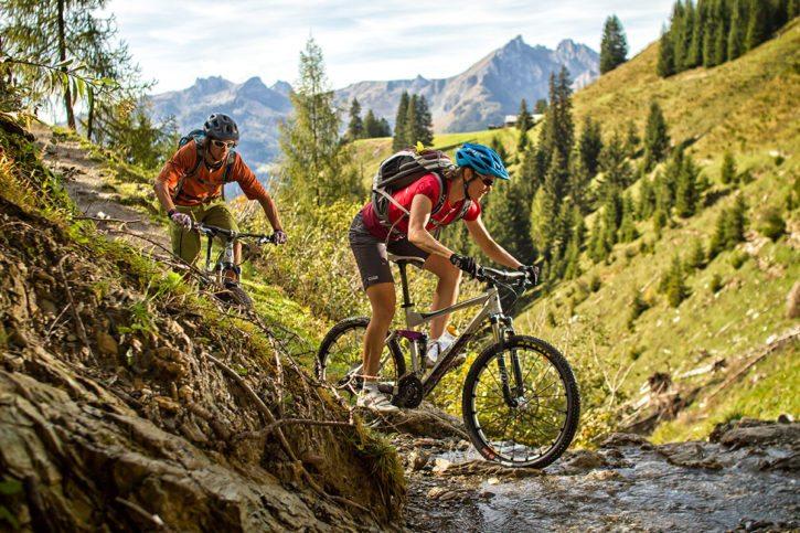 Mountainbiken & Radfahren –Sommerurlaub in Dorfgastein, Gasteinertal – Hoisbauer