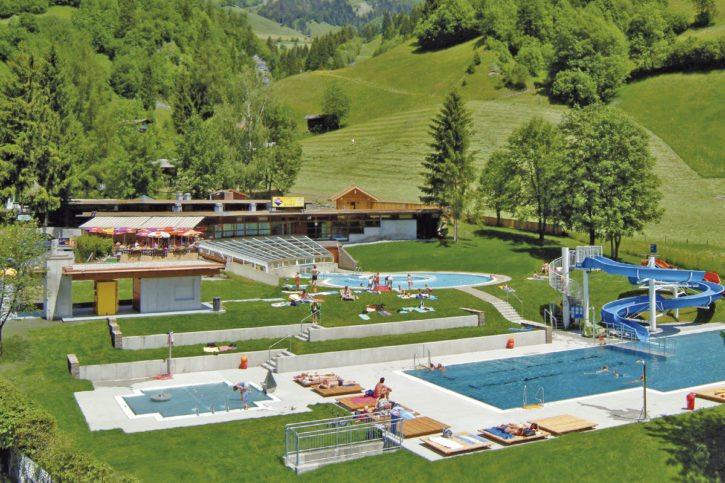 Solarbad –Sommerurlaub in Dorfgastein, Gasteinertal – Hoisbauer