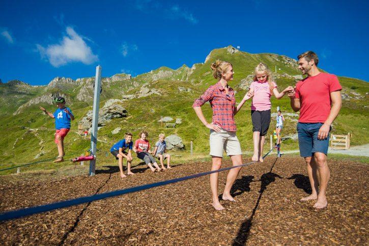 Almspielplatz – Wanderurlaub und Sommerurlaub in Dorfgastein, Gasteinertal – Hoisbauer